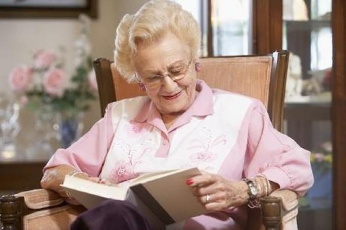 Акція «Третій вік задоволення від читання»